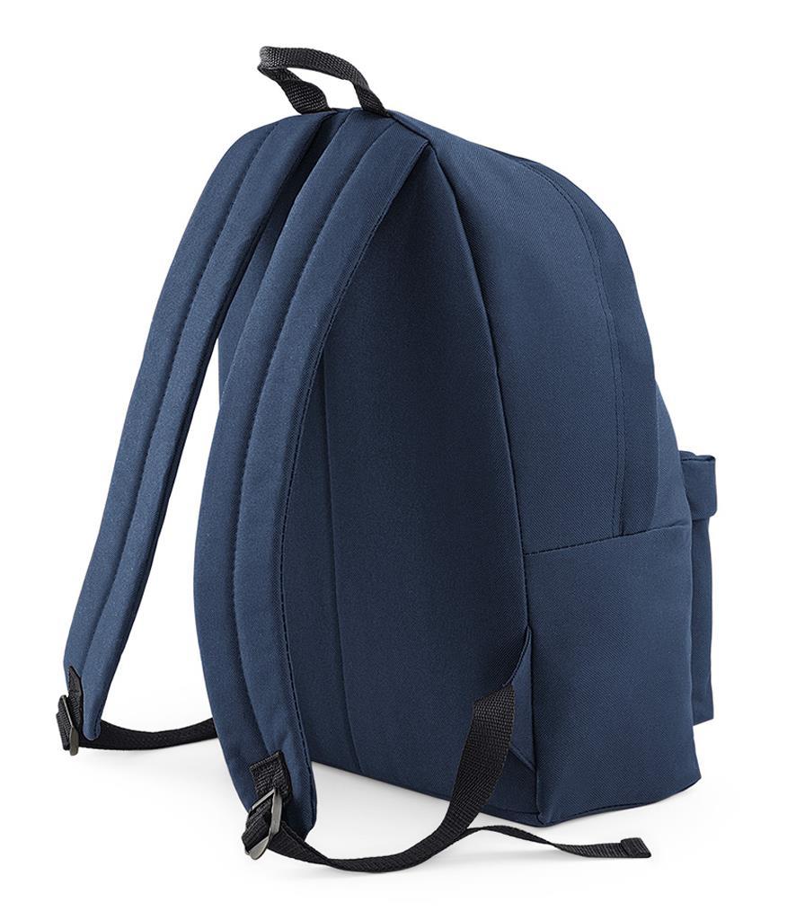 Unisex-Rucksack-Backpack-BagBase-Fashion-Travel-Bag-School-Men-Women thumbnail 27
