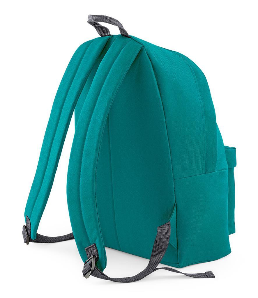 Unisex-Rucksack-Backpack-BagBase-Fashion-Travel-Bag-School-Men-Women thumbnail 25