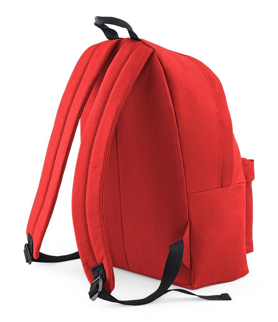 Unisex-Rucksack-Backpack-BagBase-Fashion-Travel-Bag-School-Men-Women thumbnail 9