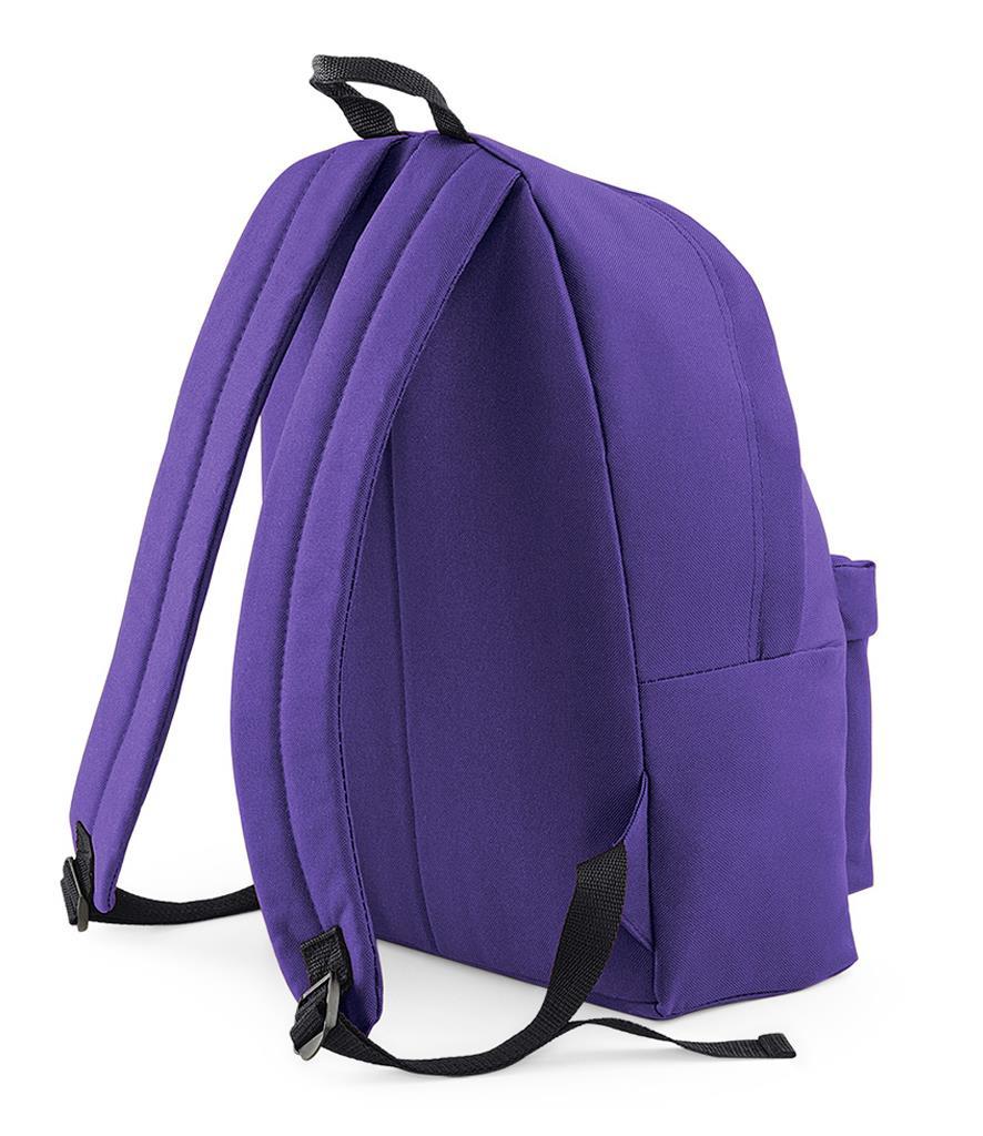 Unisex-Rucksack-Backpack-BagBase-Fashion-Travel-Bag-School-Men-Women thumbnail 51