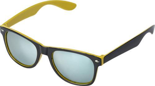 Retro-Sunglasses-Two-Tone-Wayfare-UV400-Protection-Unisex-Mens-Ladies thumbnail 17