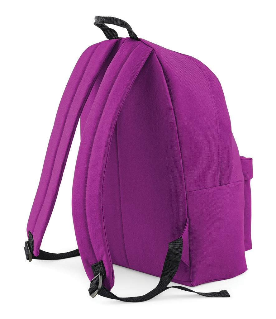 Unisex-Rucksack-Backpack-BagBase-Fashion-Travel-Bag-School-Men-Women thumbnail 39