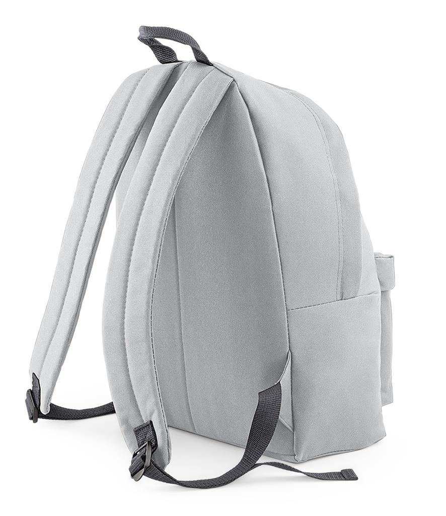 Unisex-Rucksack-Backpack-BagBase-Fashion-Travel-Bag-School-Men-Women thumbnail 35