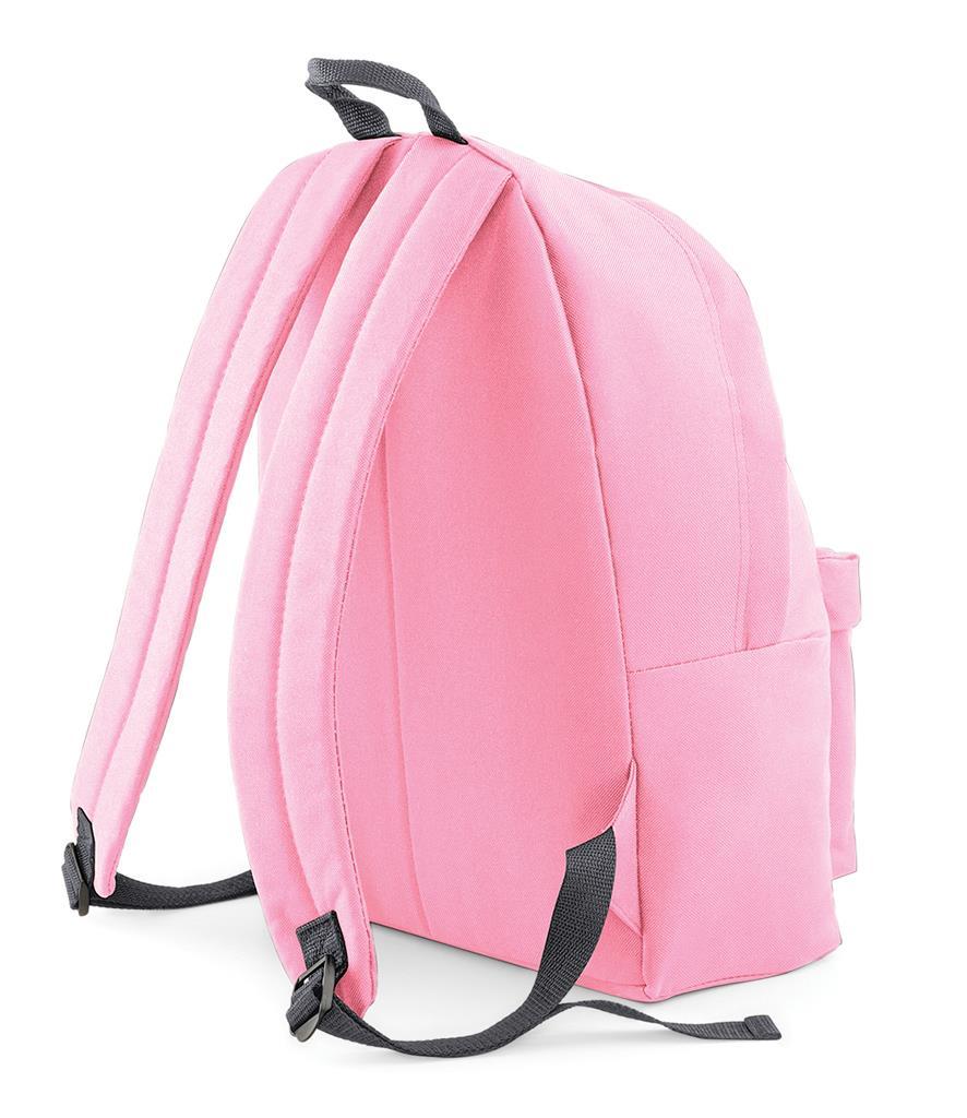 Unisex-Rucksack-Backpack-BagBase-Fashion-Travel-Bag-School-Men-Women thumbnail 19