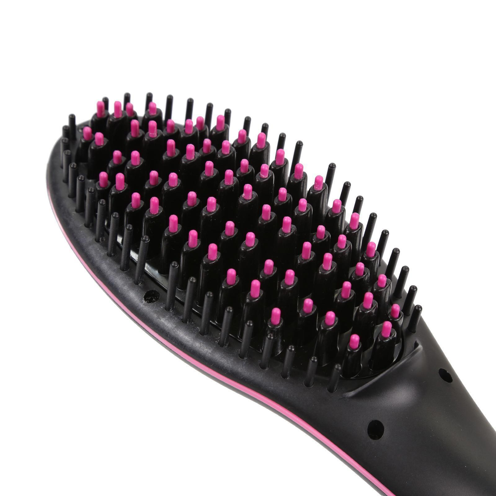 LUV-Hair-Straightening-Brush-Anti-Static-Technology-Anti-Scald-LCD-Display thumbnail 8