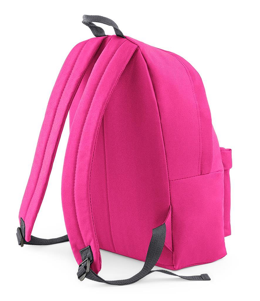 Unisex-Rucksack-Backpack-BagBase-Fashion-Travel-Bag-School-Men-Women thumbnail 29