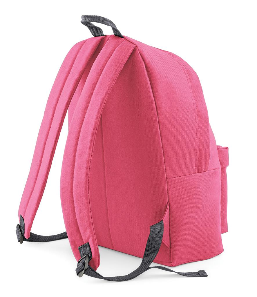 Unisex-Rucksack-Backpack-BagBase-Fashion-Travel-Bag-School-Men-Women thumbnail 63