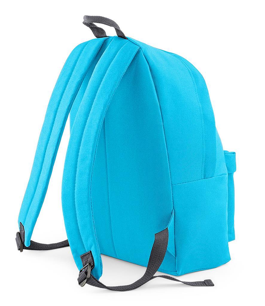 Unisex-Rucksack-Backpack-BagBase-Fashion-Travel-Bag-School-Men-Women thumbnail 61