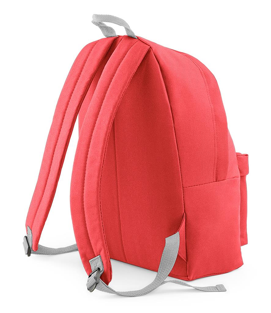 Unisex-Rucksack-Backpack-BagBase-Fashion-Travel-Bag-School-Men-Women thumbnail 23