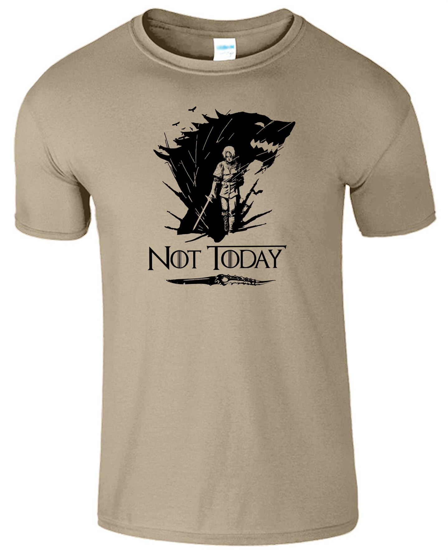 Arya-Stark-Not-Today-T-Shirt-Mens-Game-Season-Womens-Shirt-Adults-Unisex-Fit Indexbild 42