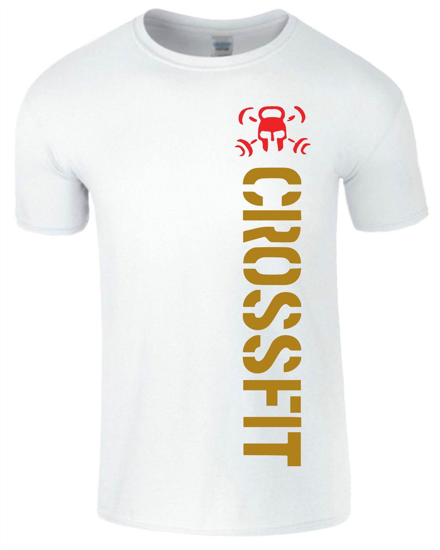 Crossfit-Mens-T-Shirt-Gym-Wear-Bodybuilding-Training-Workout-Fitness-T-Shirt Indexbild 22