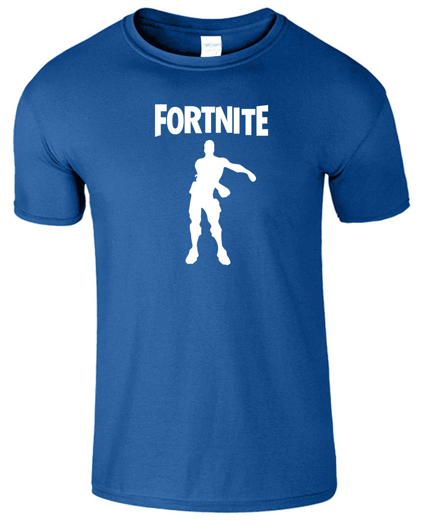 Fortnite-T-Shirt-celebraciones-para-Hombre-Adulto-Ninos-Nino-Kid-039-s-Juego-Dance-DAB