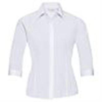 Russell-Coleccion-womenssleeve-Polialgodon-Easycare-Popelin-senoras-J926F-Equipada