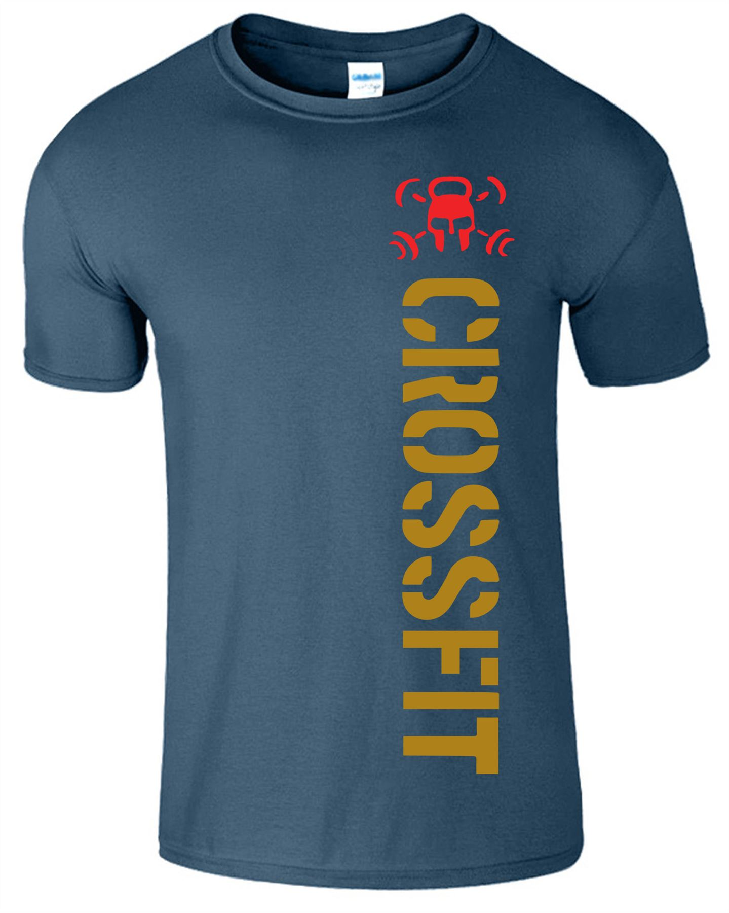 Crossfit-Mens-T-Shirt-Gym-Wear-Bodybuilding-Training-Workout-Fitness-T-Shirt Indexbild 11