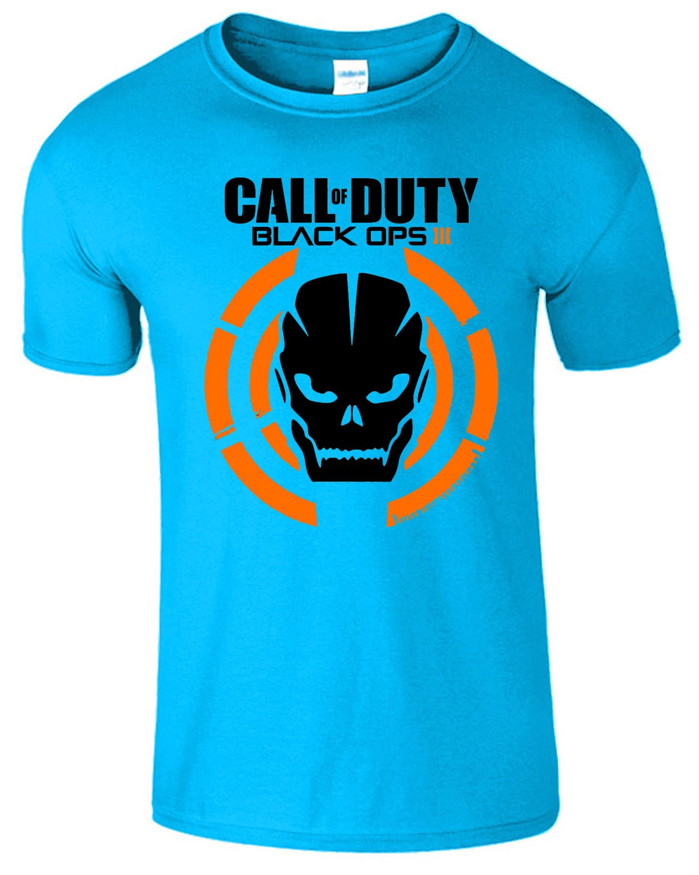 Call of duty kids t shirt black ops iii tshirt game logo for Game t shirts uk