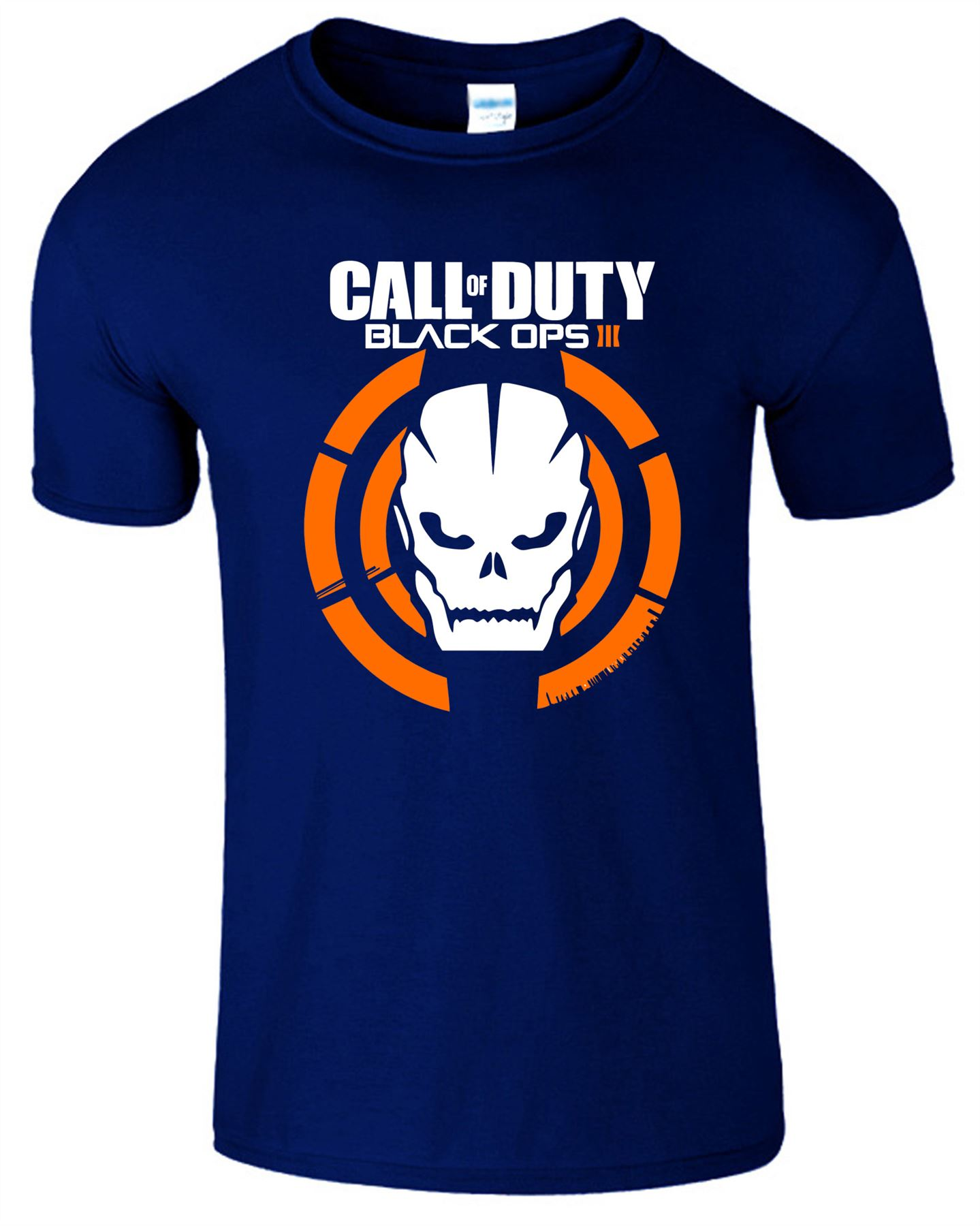 Duty-Black-Ops-Xbox-PS3-PS4-Game-Logo-With-Skull-Mens-Tshirt-Tee-Top-Gift miniatuur 6