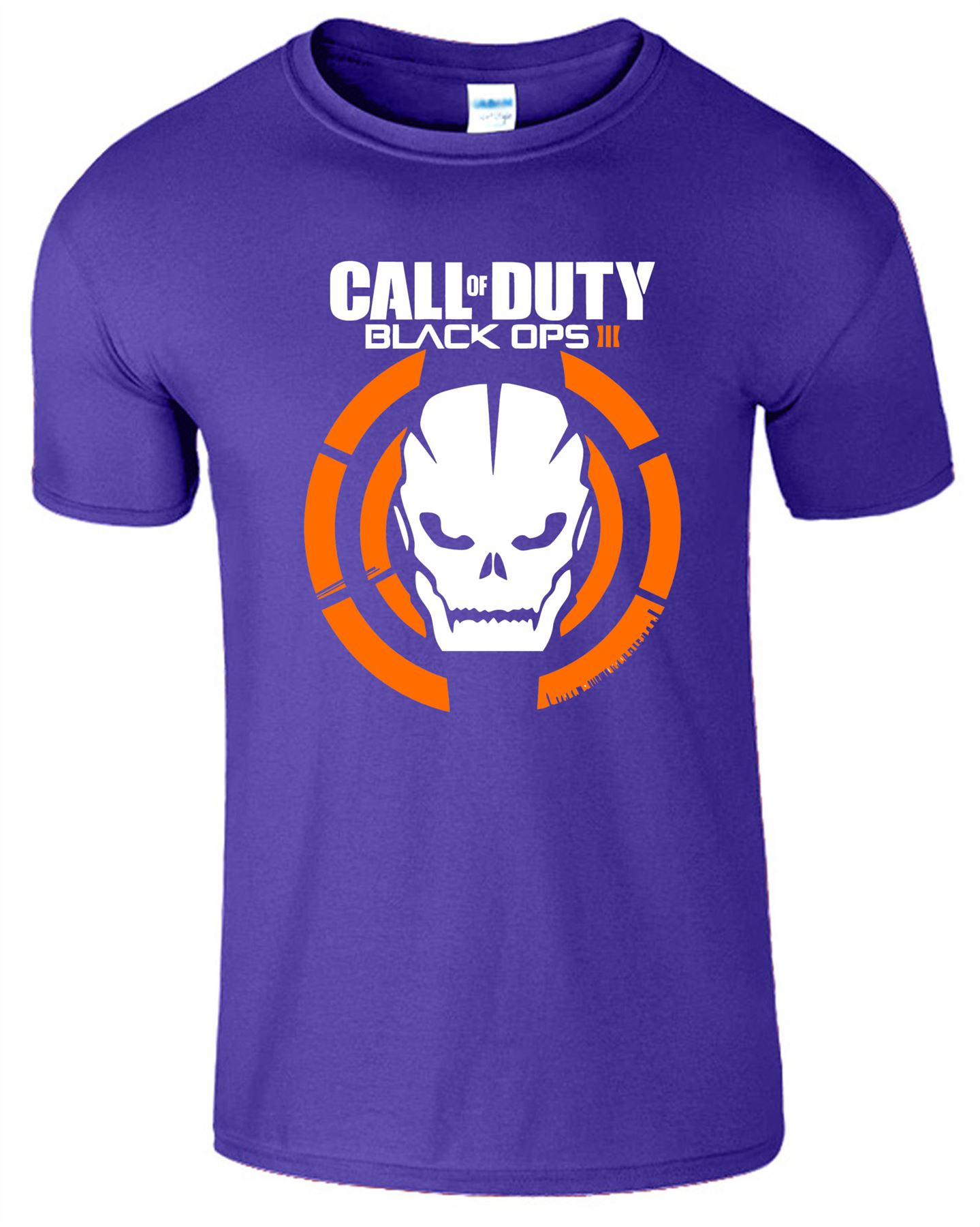Duty-Black-Ops-Xbox-PS3-PS4-Game-Logo-With-Skull-Mens-Tshirt-Tee-Top-Gift miniatuur 3