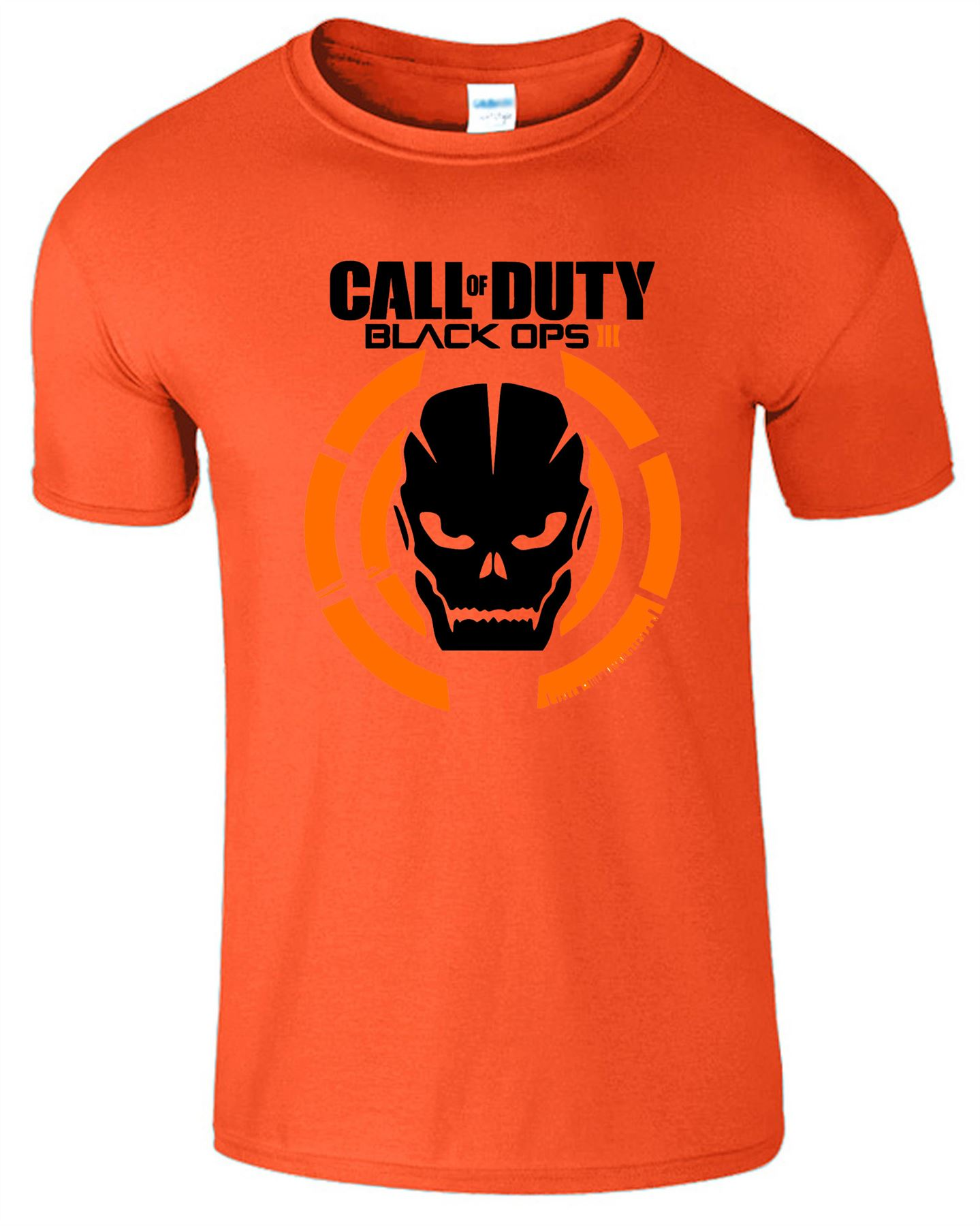 Duty-Black-Ops-Xbox-PS3-PS4-Game-Logo-With-Skull-Mens-Tshirt-Tee-Top-Gift miniatuur 7