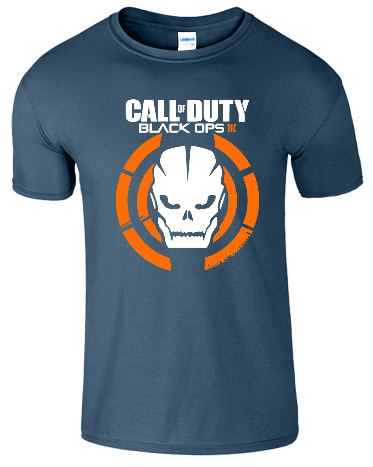 Duty-Black-Ops-Xbox-PS3-PS4-Game-Logo-With-Skull-Mens-Tshirt-Tee-Top-Gift miniatuur 4