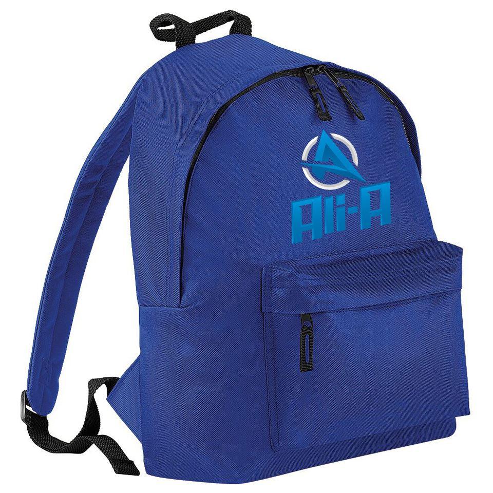 A For Ali Kids Backpack Great For School Youtuber Adult Girls Boys Funny Bag
