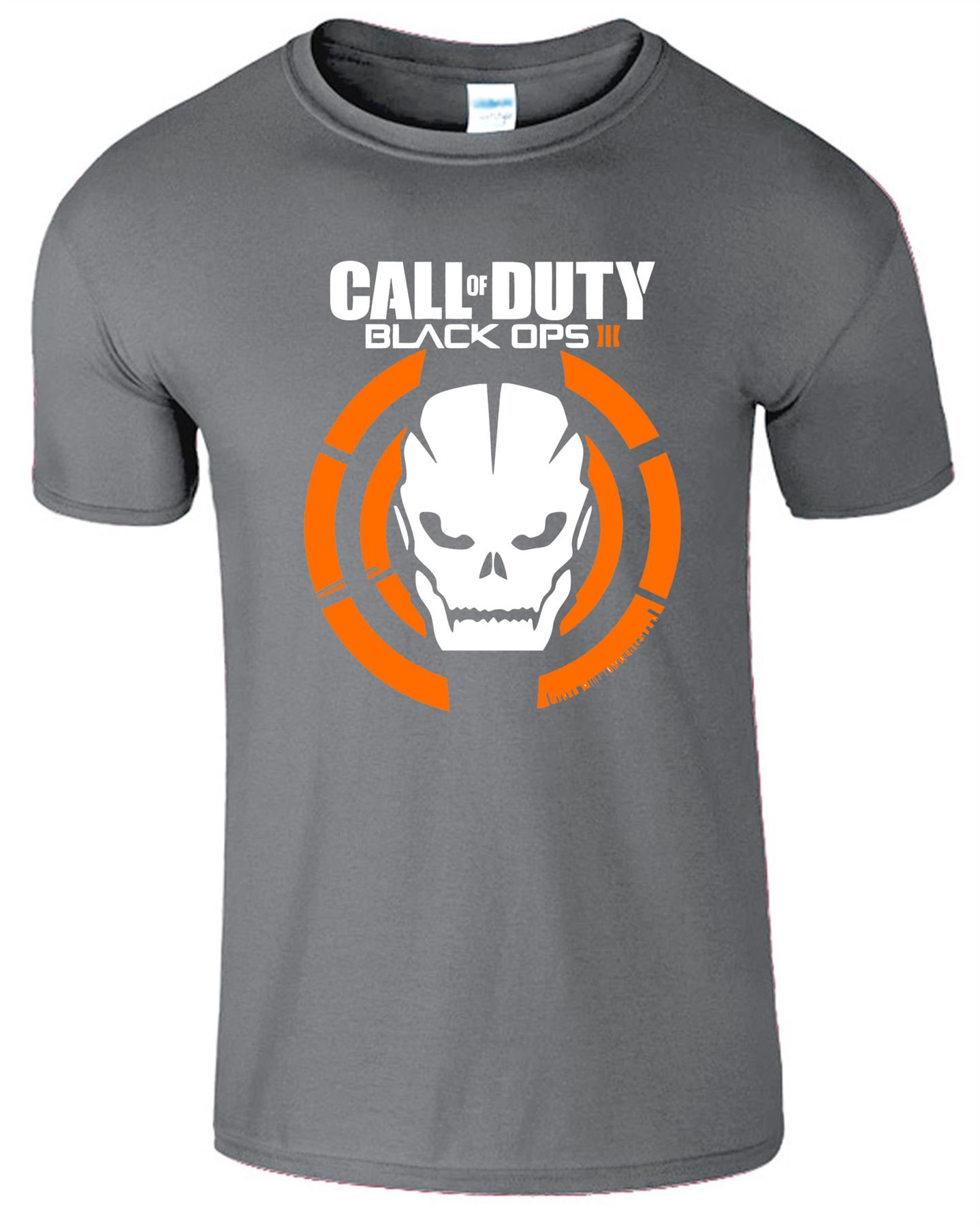 Duty-Black-Ops-Xbox-PS3-PS4-Game-Logo-With-Skull-Mens-Tshirt-Tee-Top-Gift miniatuur 2