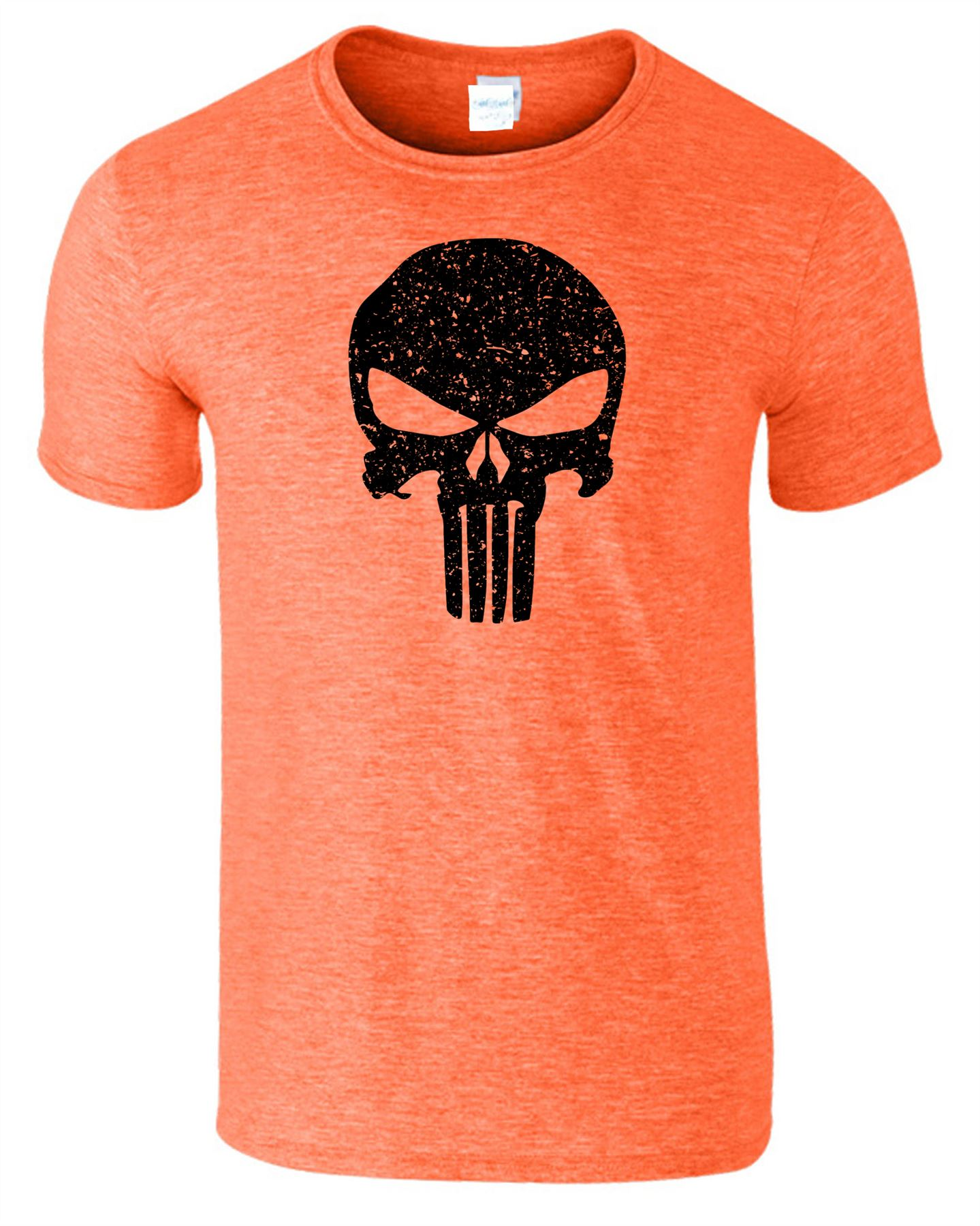 Punisher-The-Skull-Mens-Body-Fit-T-Shirt-Gym-Bodybuilding-Adult-Training-Top