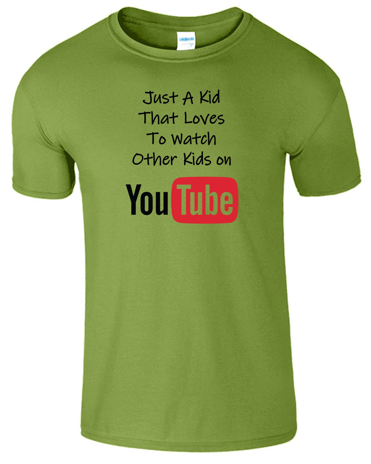 Juste-un-gamin-qui-aime-regarder-d-039-autres-enfants-sur-youtube-T-SHIRT-BOYS-jeu-T-Shirt