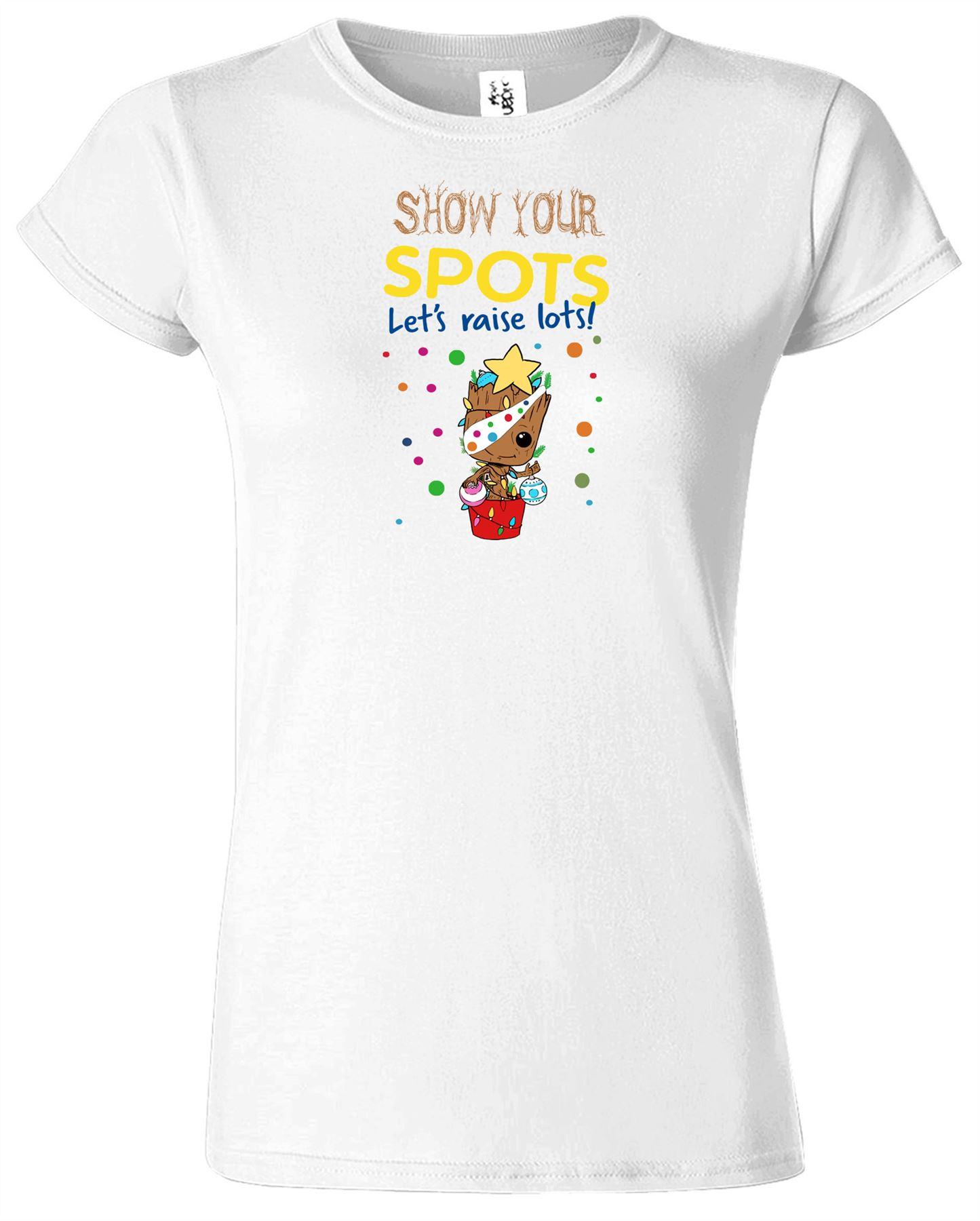 Groot Ladies T-Shirt Children Day Funny Christmas Present Top Tee Tshirt