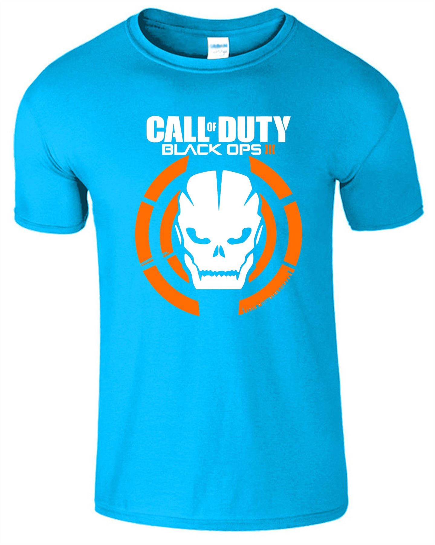 Duty-Black-Ops-Xbox-PS3-PS4-Game-Logo-With-Skull-Mens-Tshirt-Tee-Top-Gift miniatuur 15