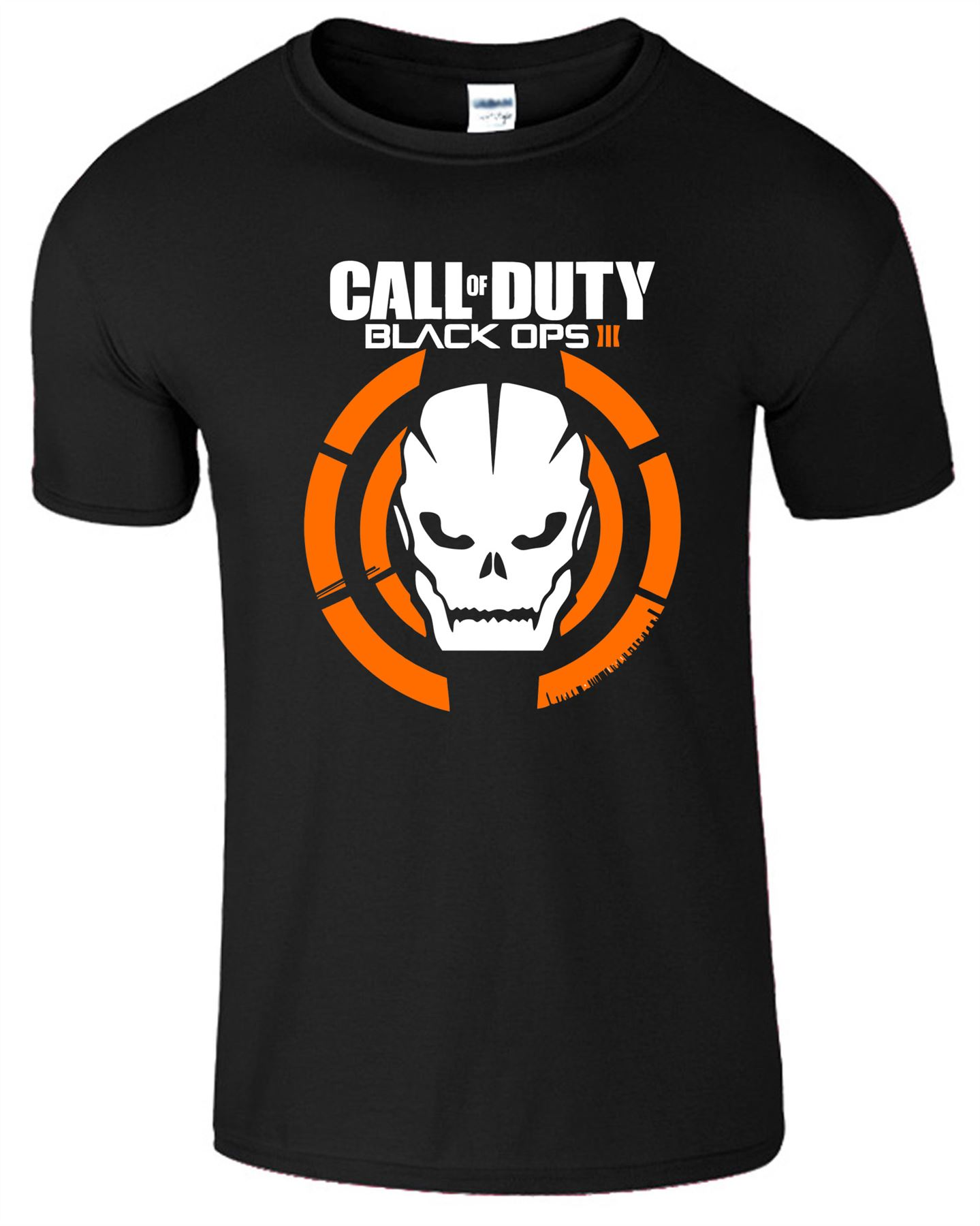 Duty-Black-Ops-Xbox-PS3-PS4-Game-Logo-With-Skull-Mens-Tshirt-Tee-Top-Gift