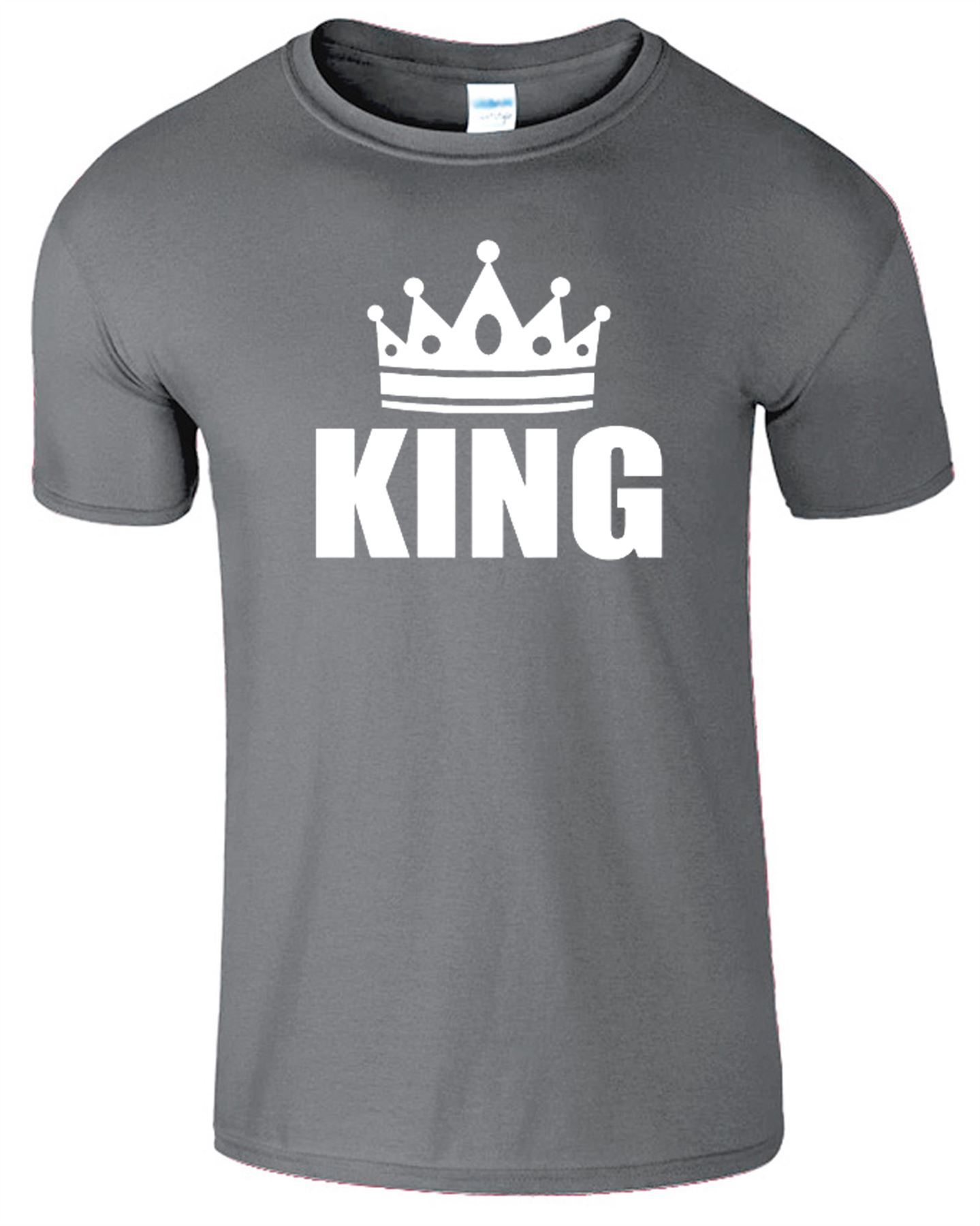 Black queen t shirt - King And Queen T Shirt Mens Womens Crown