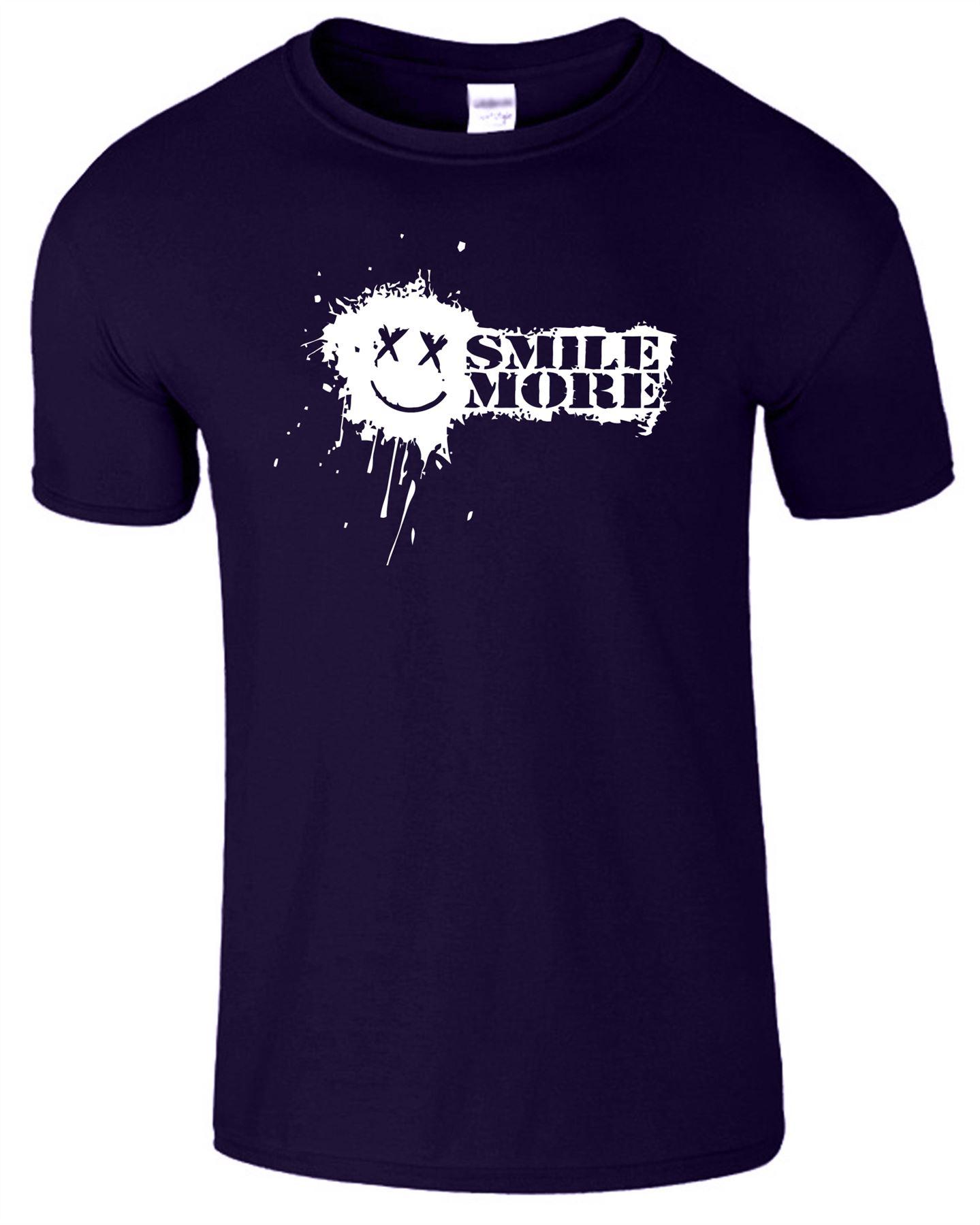 SMILE MORE T SHIRT YOUTUBE PRANKSTER TEE