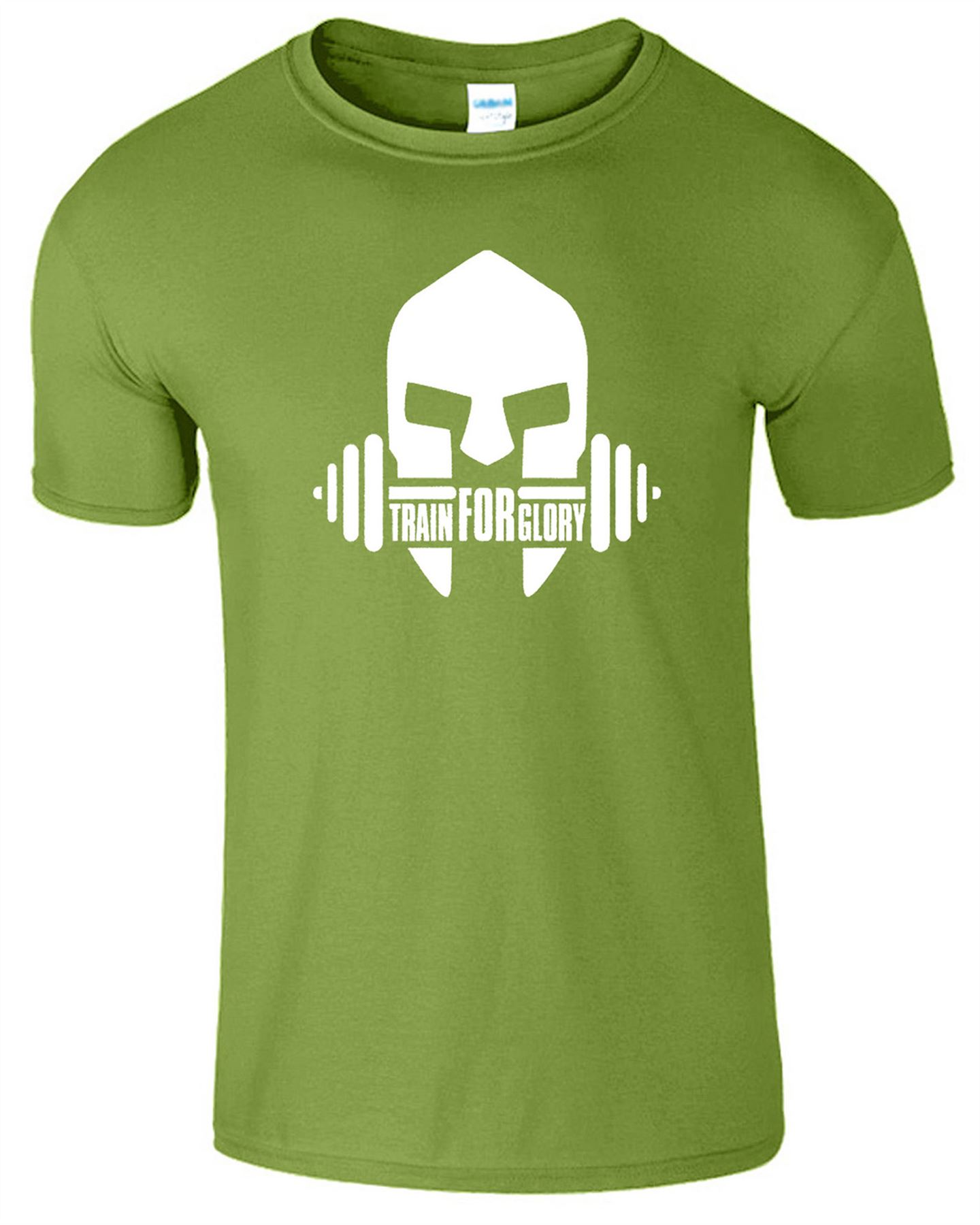 Train for glory t shirt mens bodybuilding crossfit gym Fitness shirts for men