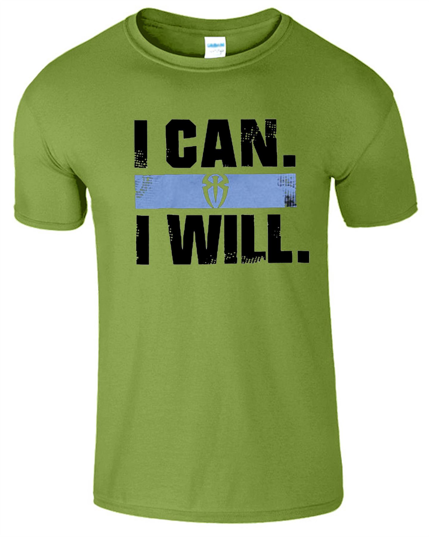Roman reigns i can i will logo super star spear the shield for Where can i sell t shirts