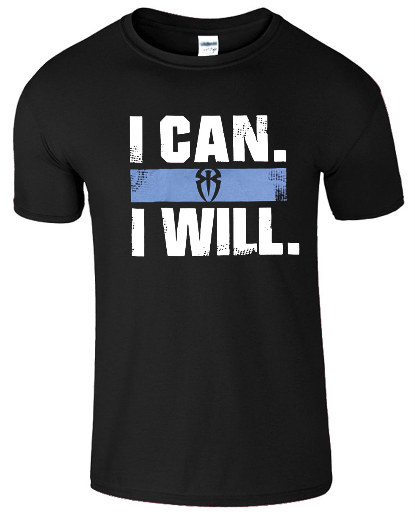 roman reigns spear i can i will logo super kids star top tee gift