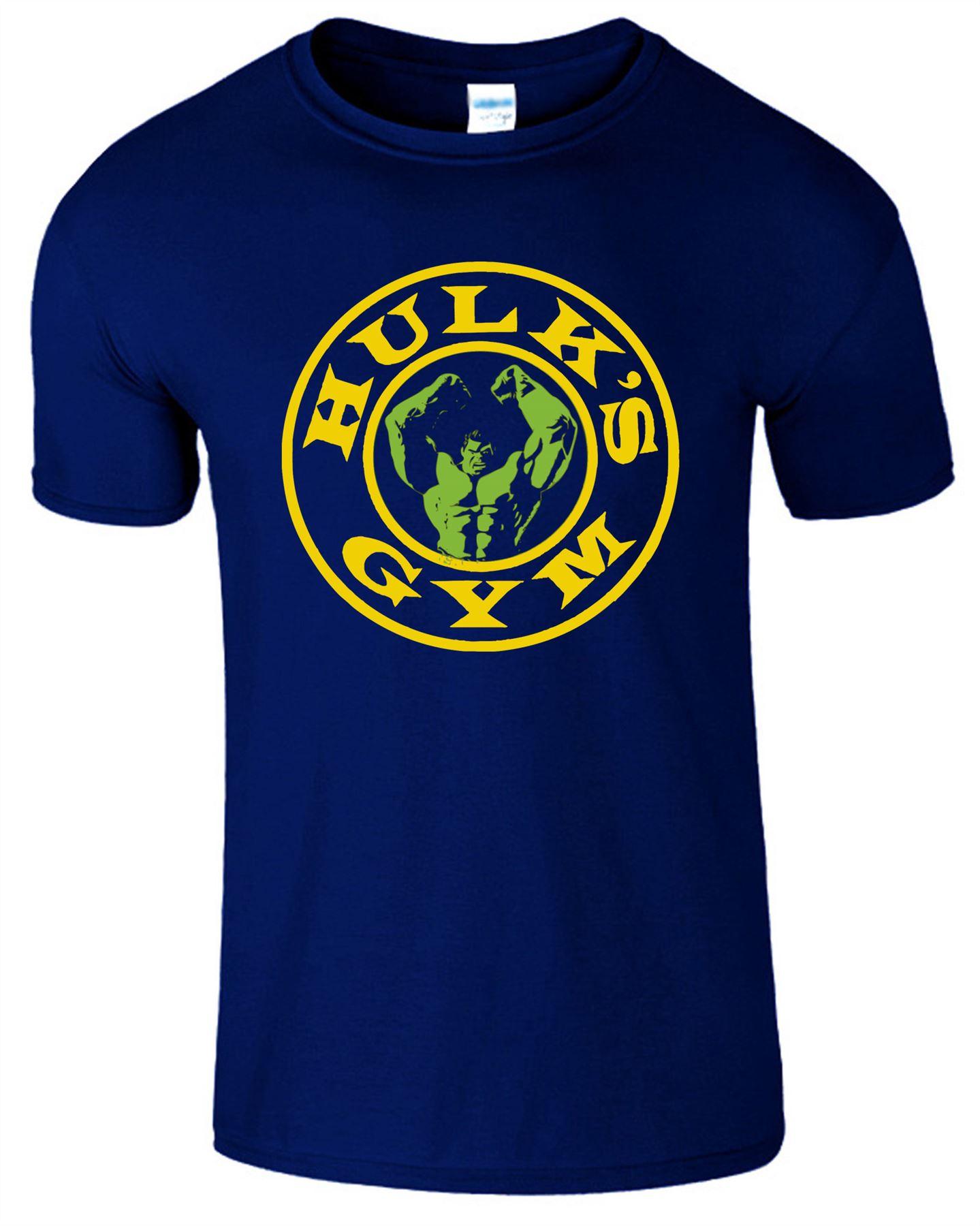 Hulk Gym Mens Style T Shirt Gym Training Cage Workout