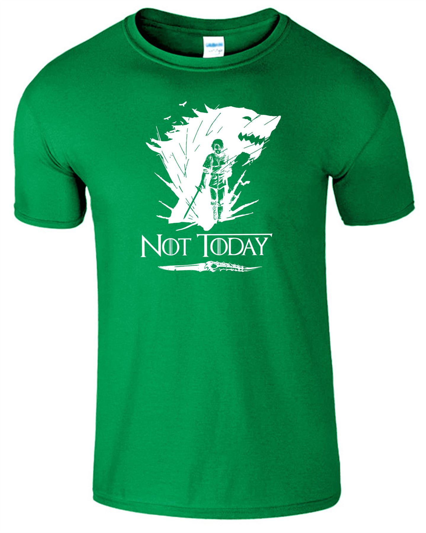 Arya-Stark-Not-Today-T-Shirt-Mens-Game-Season-Womens-Shirt-Adults-Unisex-Fit Indexbild 24