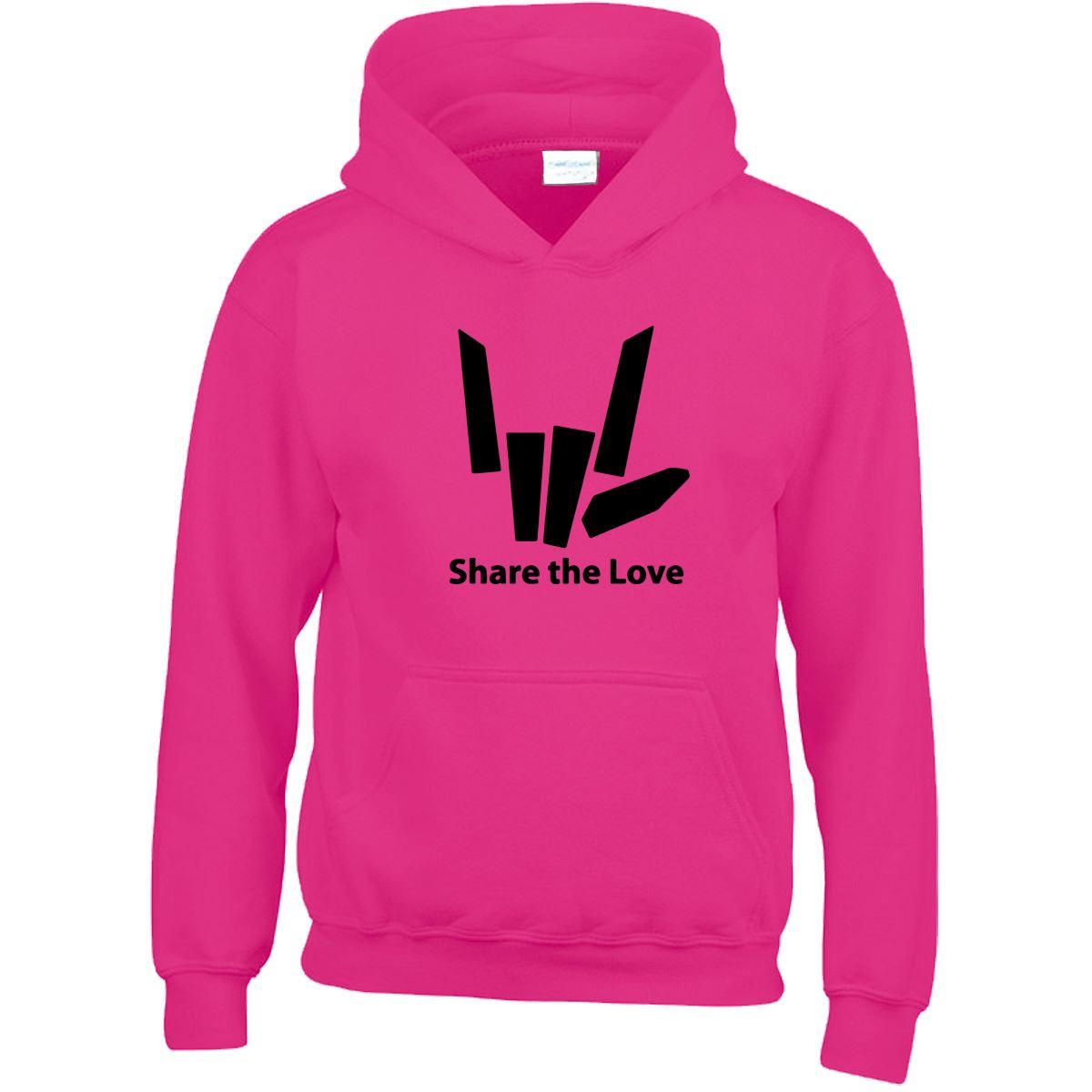 Share The Love Stephen Sharer Youtuber Mens Sweat Kids Girls Boys Sweatshirt