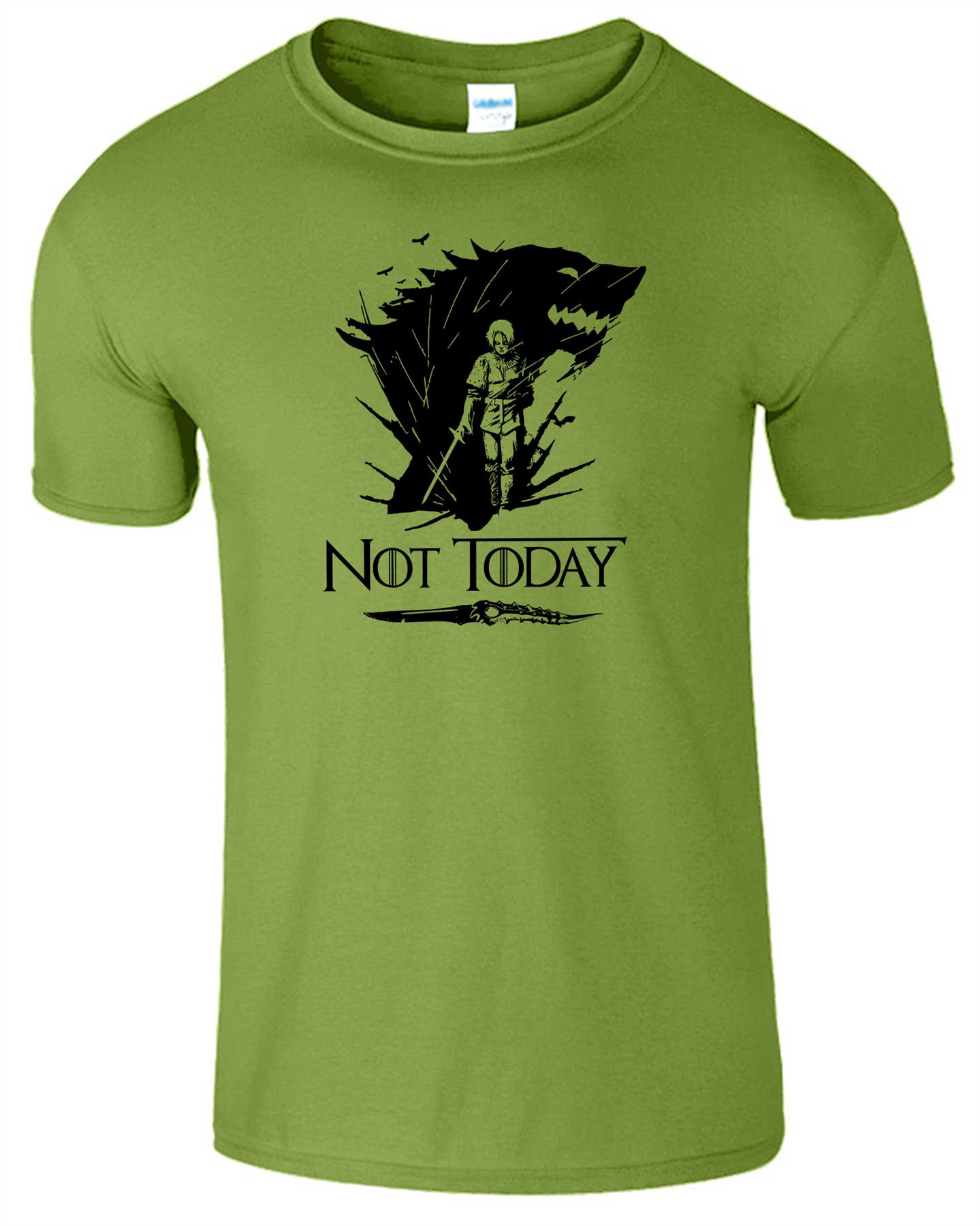 Arya-Stark-Not-Today-T-Shirt-Mens-Game-Season-Womens-Shirt-Adults-Unisex-Fit Indexbild 25