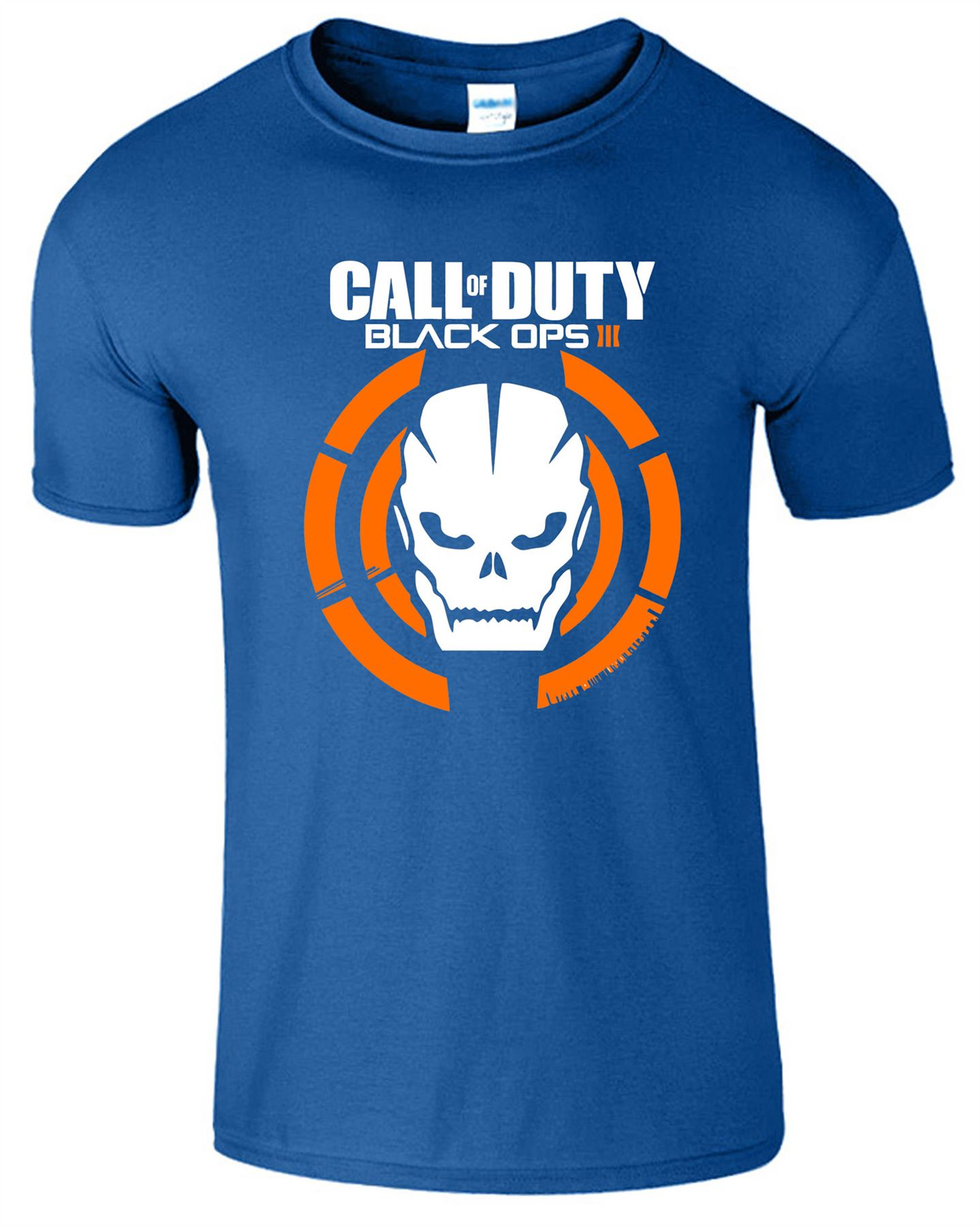 Duty-Black-Ops-Xbox-PS3-PS4-Game-Logo-With-Skull-Mens-Tshirt-Tee-Top-Gift miniatuur 12