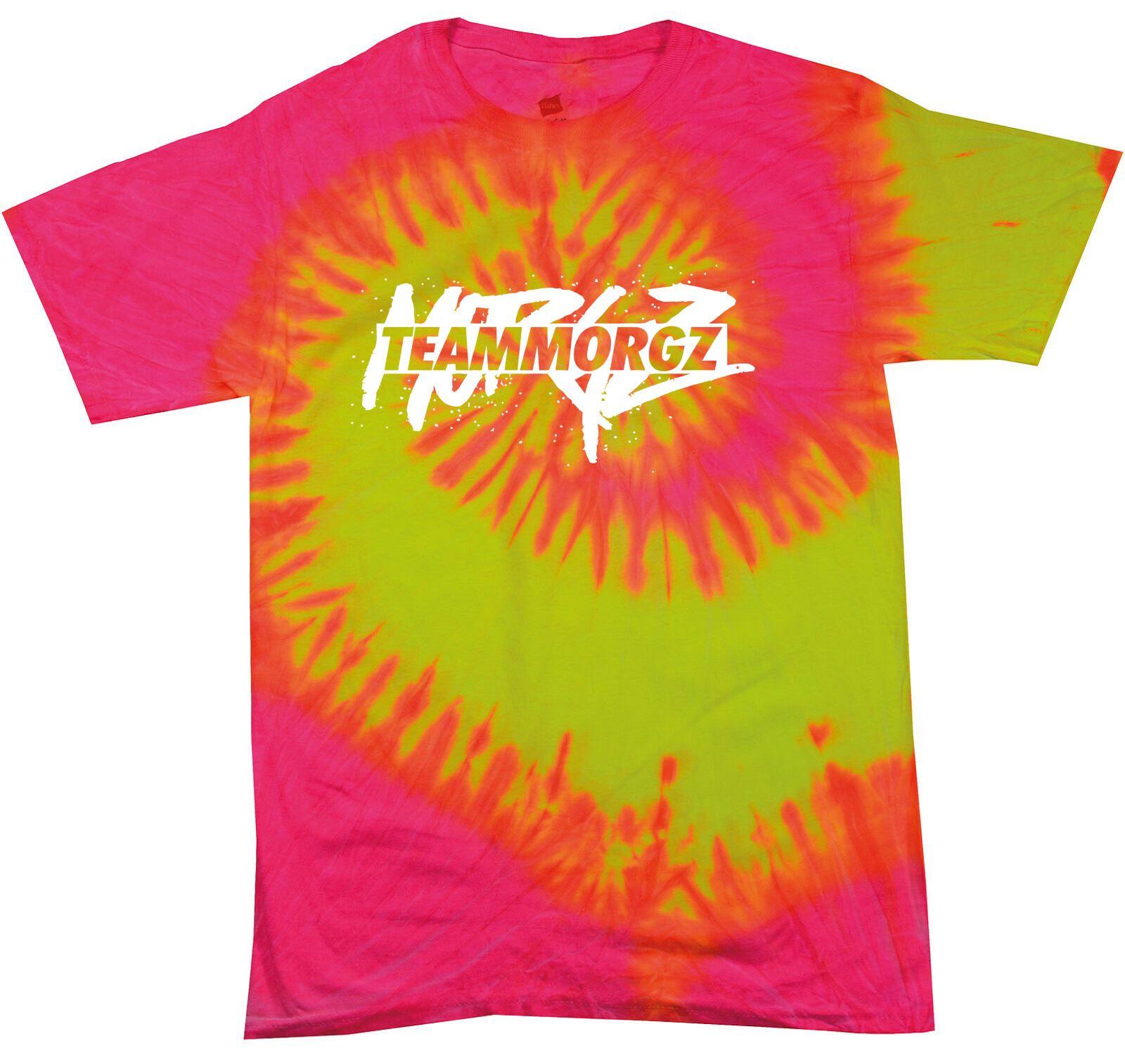 Color Tone Tie Dye Mens TShirt Morgz Youtuber Gaming Gamer Music Festival Tshirt
