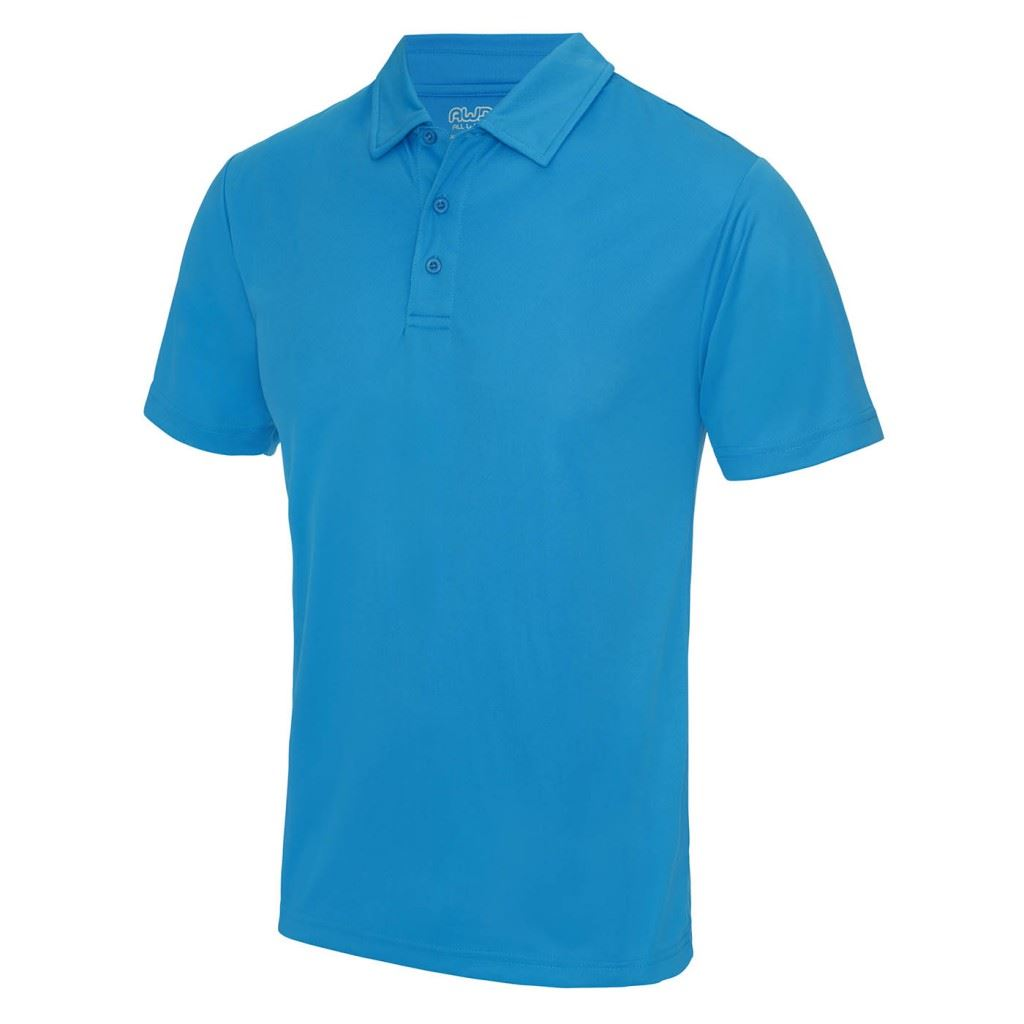 Awdis cool polo t shirt wickable breathable training gym for Cool polo t shirts