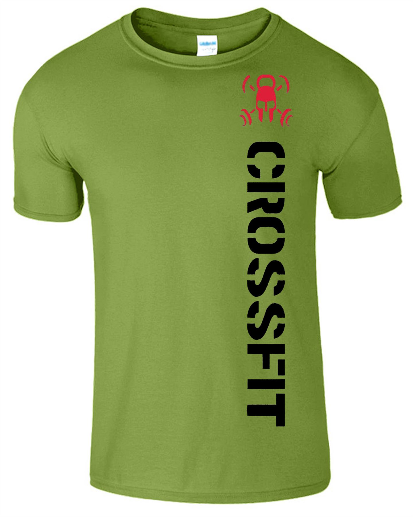 Gym Crossfit Mens T Shirt Bodybuilding Functional Gym Wear