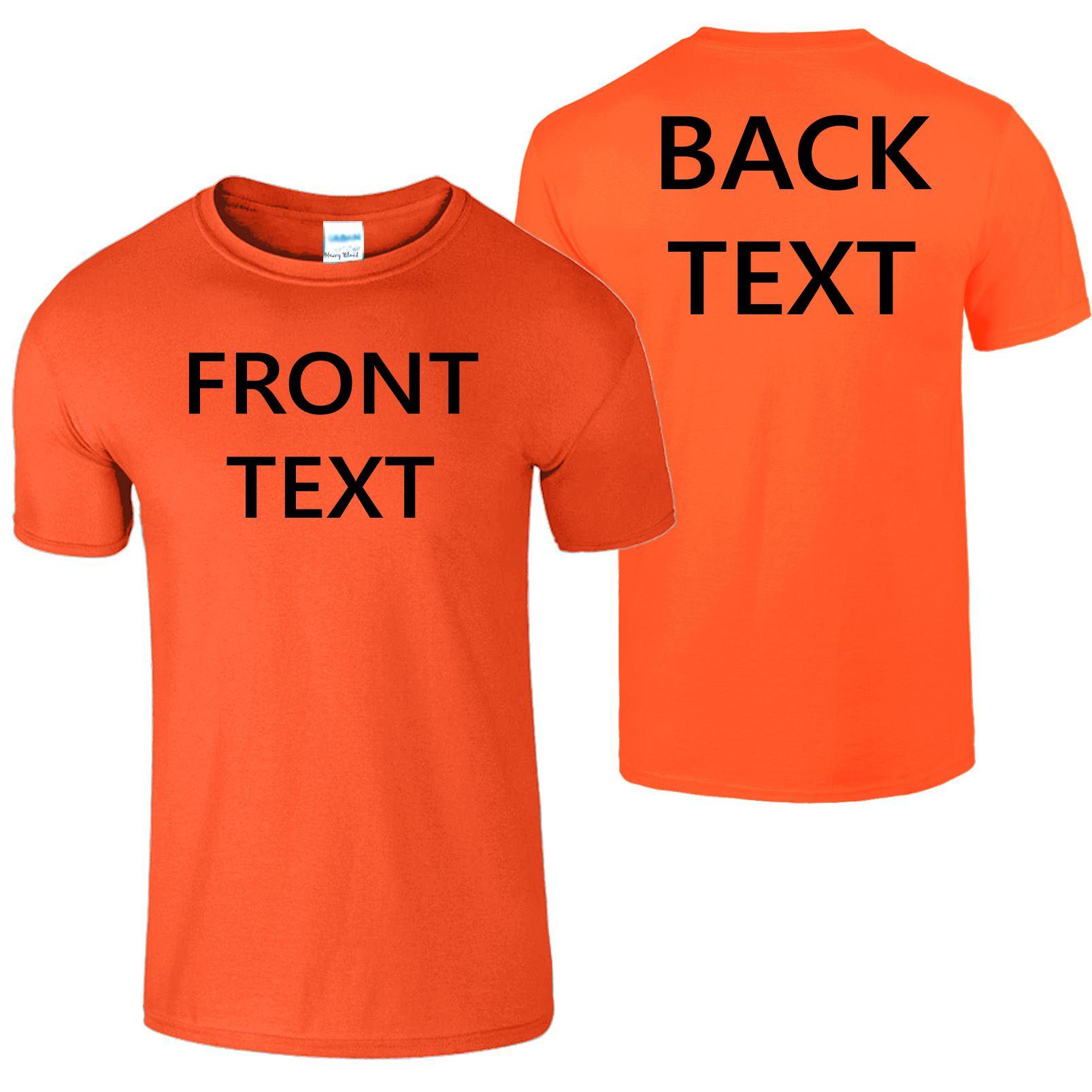 Personalised-Custom-Printed-Kids-T-shirt-Votre-Design-Text-Cadeau-d-039-anniversaire-t-shirt