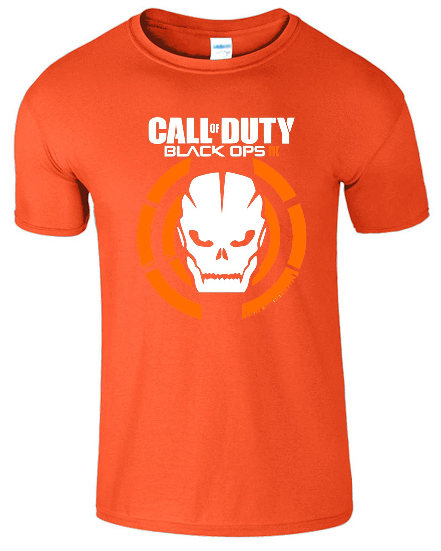 Duty-Black-Ops-Xbox-PS3-PS4-Game-Logo-With-Skull-Mens-Tshirt-Tee-Top-Gift miniatuur 8