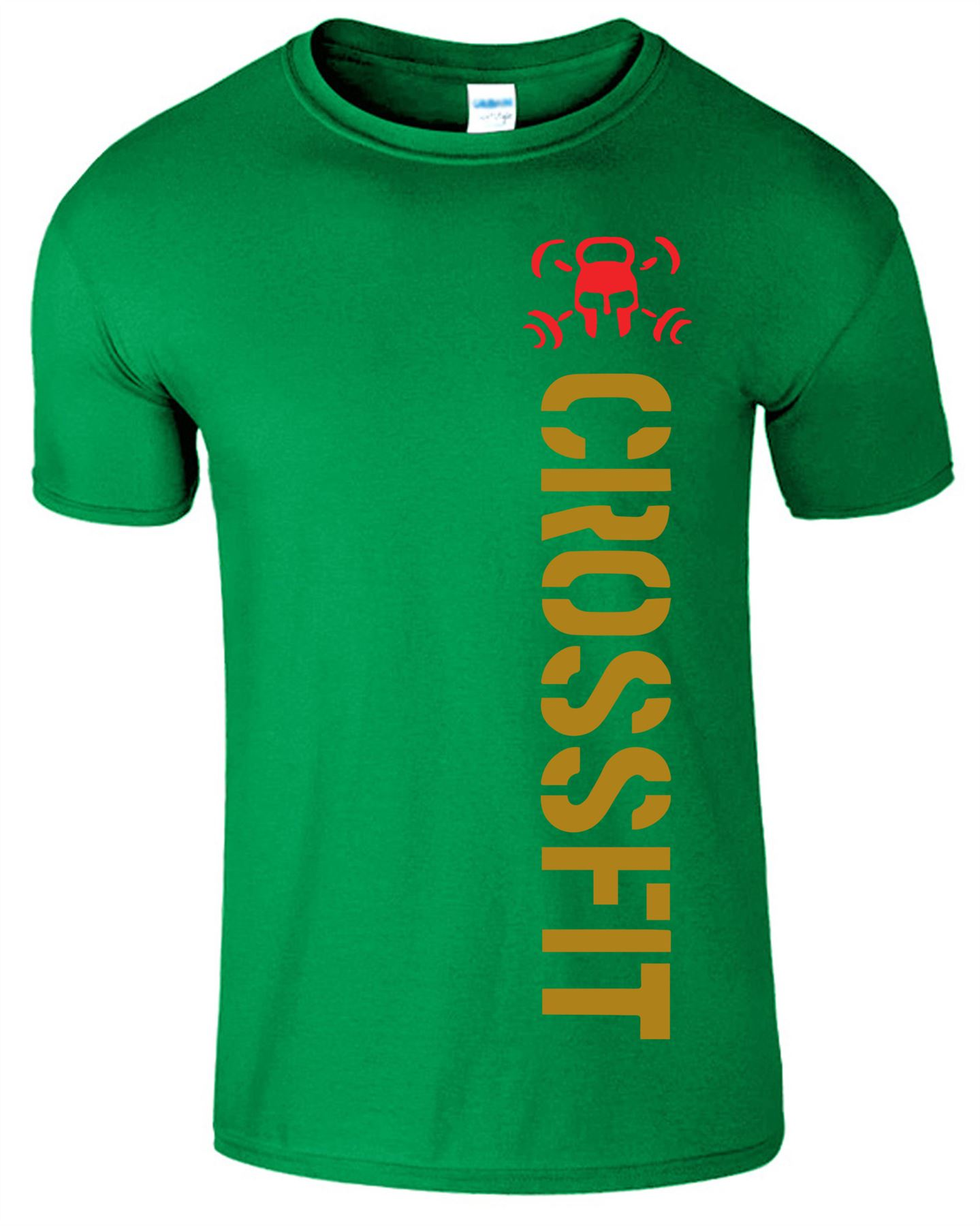Crossfit-Mens-T-Shirt-Gym-Wear-Bodybuilding-Training-Workout-Fitness-T-Shirt Indexbild 12