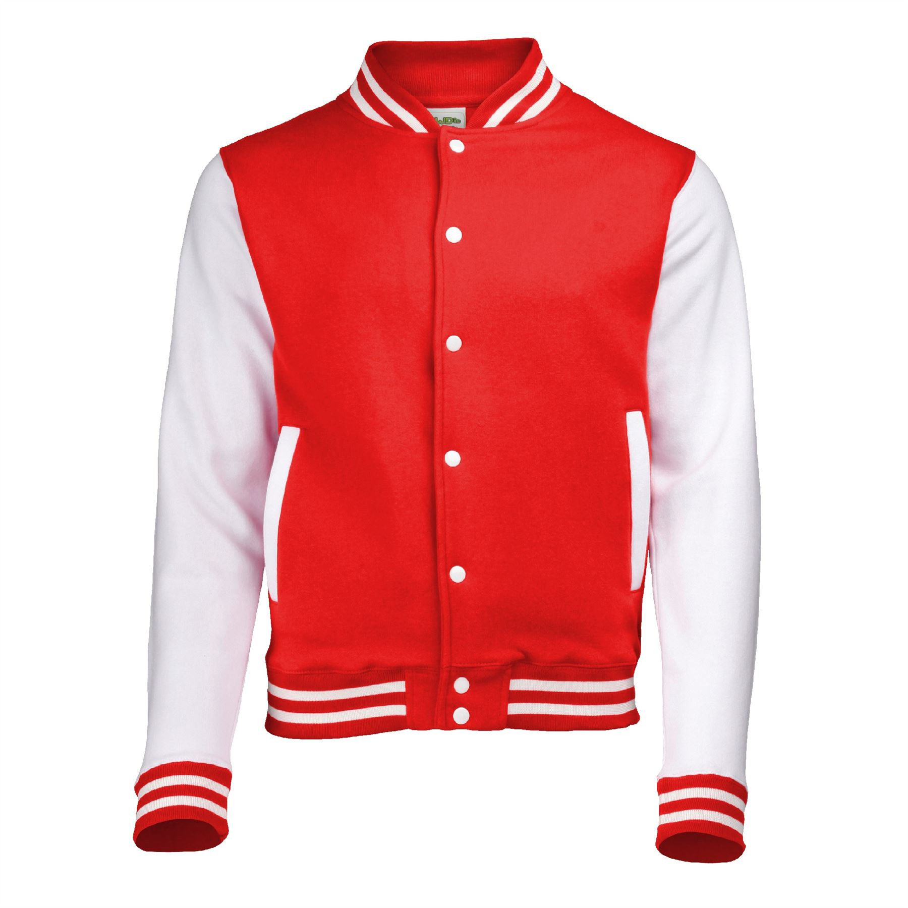 AWDis Varsity Jacket XS-3XL American inspired college letterman baseball