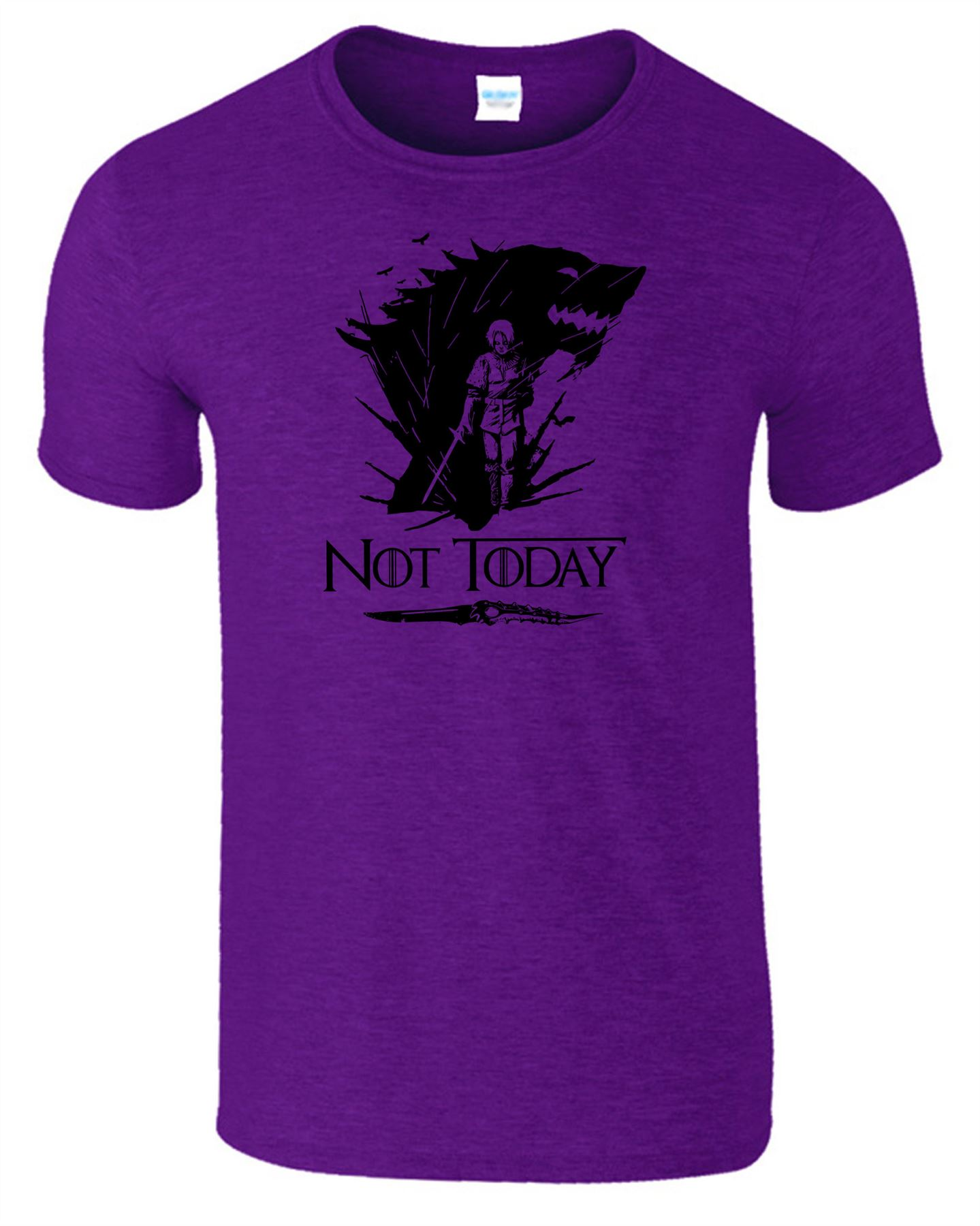 Arya-Stark-Not-Today-T-Shirt-Mens-Game-Season-Womens-Shirt-Adults-Unisex-Fit Indexbild 18