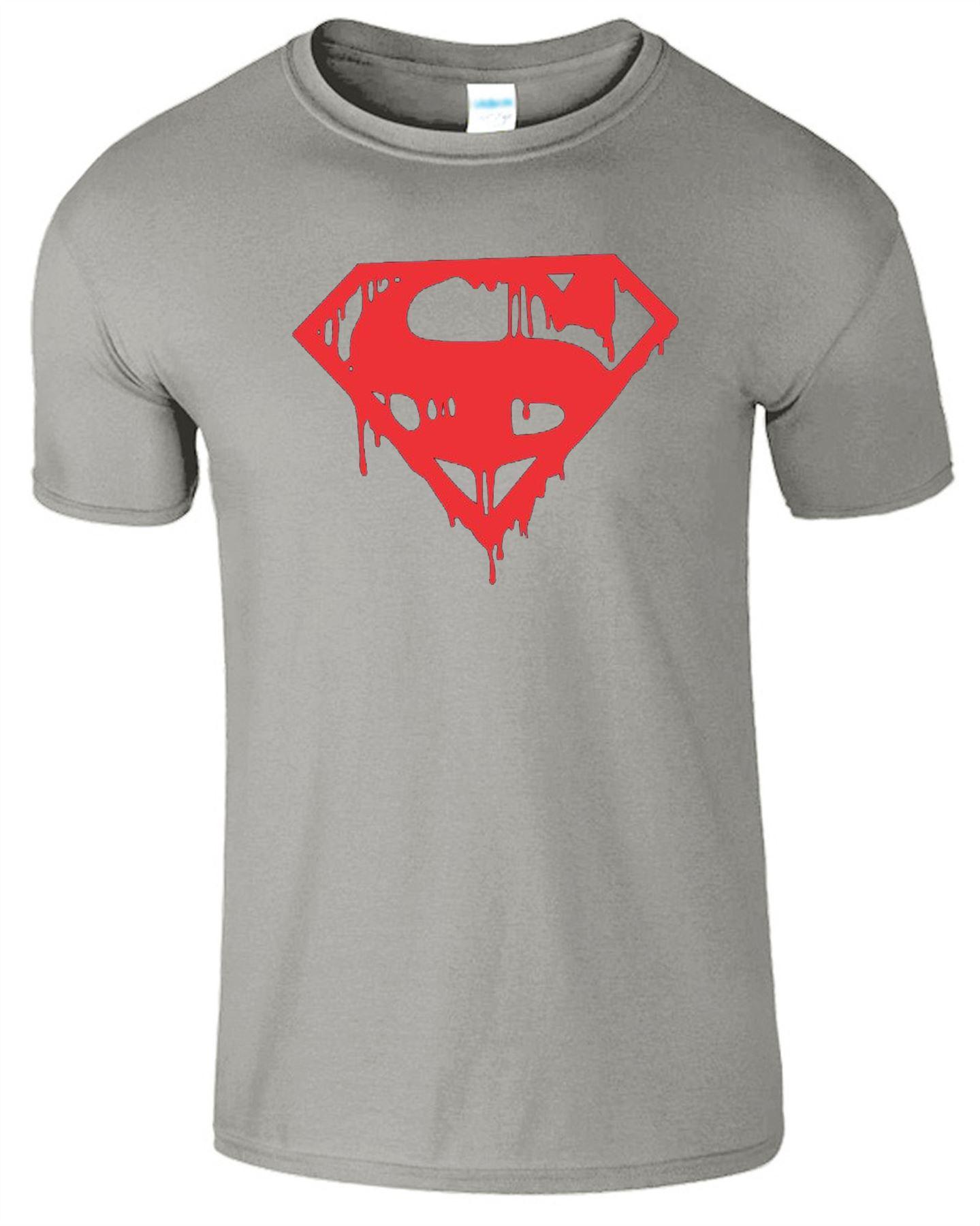 Super Evil Drip Mens T-Shirt Gym Bodybuilding Motivation Fitness Top T Shirt
