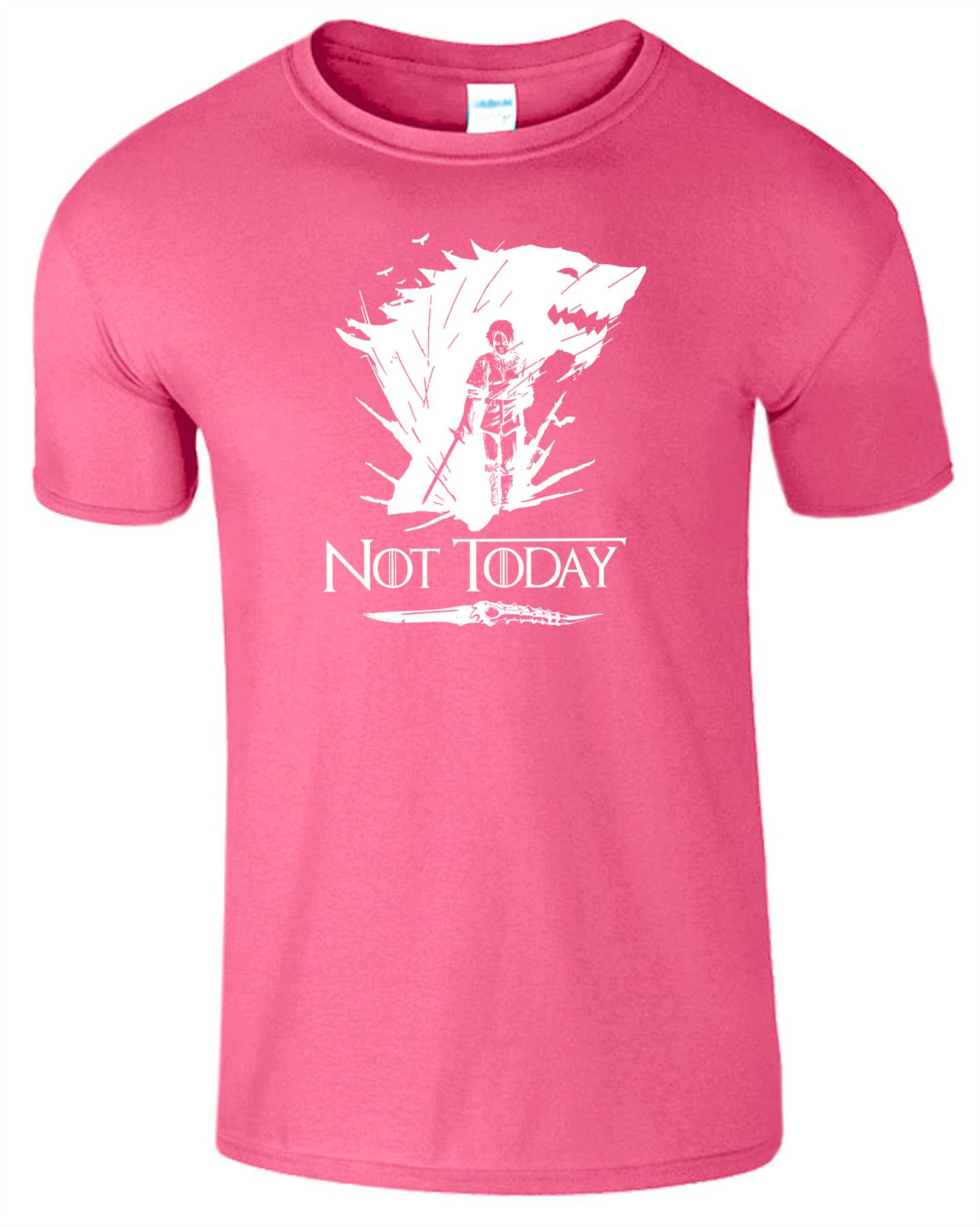 Arya-Stark-Not-Today-T-Shirt-Mens-Game-Season-Womens-Shirt-Adults-Unisex-Fit Indexbild 13